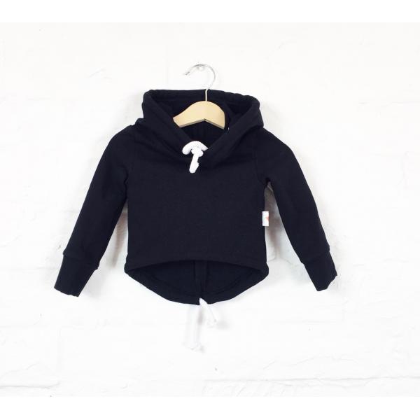 7c502d465 Jednoduchá čierna mikina pre vaše deti, pretože v jednoduchosti je krása ;)