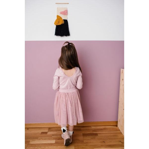 a8d3b840138b NOVINKA PRE DCÉRKY A MAMINKY! Tylová sukňa v krásnej púdrovo-ružovej ...