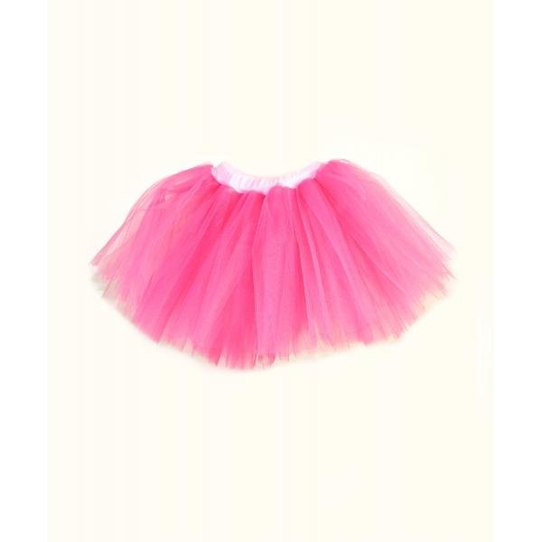 2adcc8d7d504 Tylová sukňa v ružovej farbe pre dievčatká